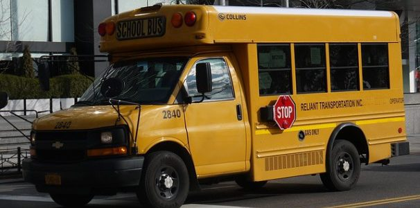 tutuki school bus high school USA