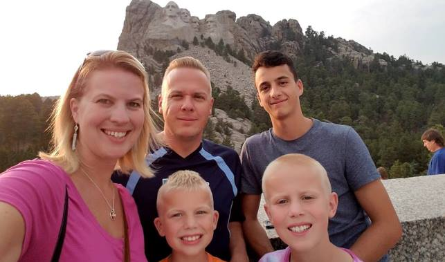 host family trip
