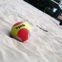 plážový volejbal - předojezdové setkání